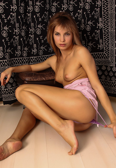 Martina A in Martina Purple Thong from Stunning 18