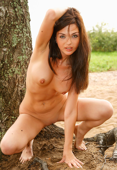 Fiona F in Fiona Big Boobs Outdoor from Stunning 18