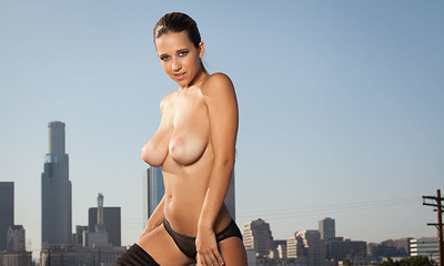 Carlye Denise in Dangerous Territory from Playboy
